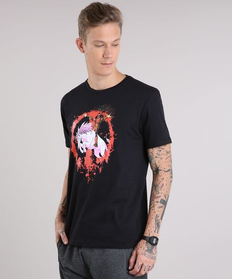 Camiseta-Masculina-Deadpool-Manga-Curta-Gola-Careca-Preta-9077679-Preto_1