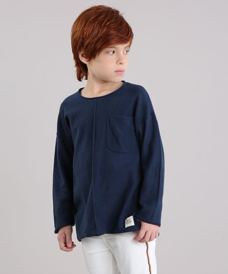 Camiseta-Infantil-Canelada-com-Bolso-Manga-Longa-Gola-Azul-Marinho-8868495-Azul_Marinho_1