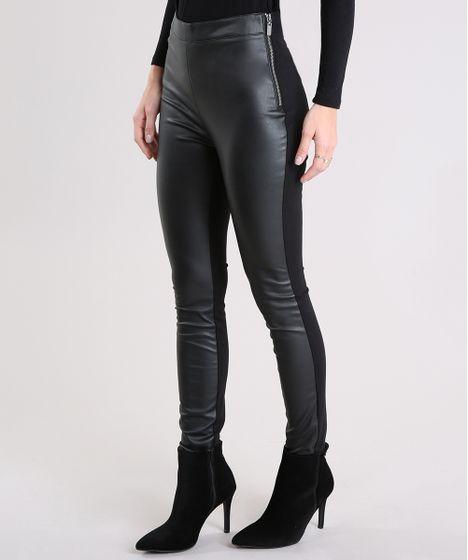 b7d561f61 Calca-Feminina-Legging-com-Ziper-Preta-8893825-Preto 1 ...