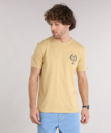 Camiseta-Masculina-Manga-Curta-Gola-Careca-Amarela-9125864-Amarelo_1