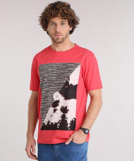 Camiseta-Masculina-Manga-Curta-Gola-Careca-com-Estampa-Vermelha-9150007-Vermelho_1