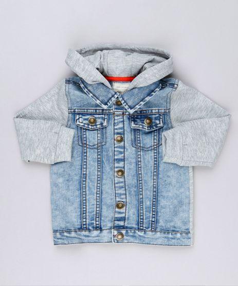 Jaqueta-Jeans-Infantil-com-Moletom-e-Capuz-Manga-Longa-Azul-Claro-8866017-Azul_Claro_1