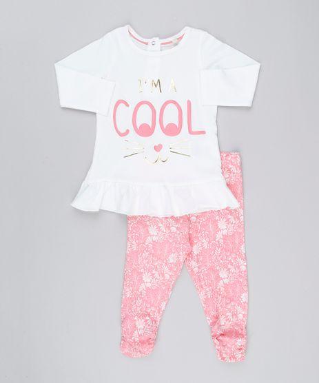 Conjunto-Infantil-de-Manga-Longa-com-Babados-Off-White---Calca-Legging-Estampada-Floral-em-Algodao---Sustentavel-Rosa-8908922-Rosa_1