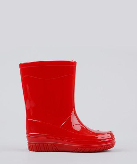 Bota-Infantil-Galocha-Cano-Medio-Vermelha-9160854-Vermelho_1