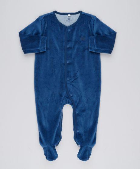 Macacao-Infantil-em-Plush-de-Algodao---Sustentavel-Azul-Marinho-8812937-Azul_Marinho_1