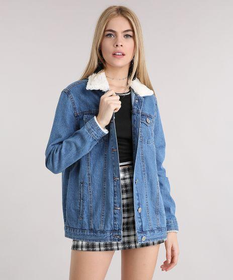 Jaqueta-Jeans-Feminina-com-Pelo-na-Gola-Azul-Media-9101348-Azul_Media_1
