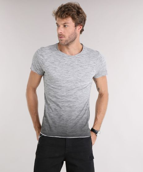 Camiseta-Masculina-Slim-Fit-Degrade-Manga-Curta-Gola-Redonda-Cinza-Mescla-9114977-Cinza_Mescla_1