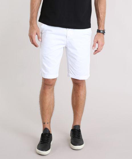Bermuda-Masculina-Reta-com-Bolsos-Branca-8749255-Branco_1