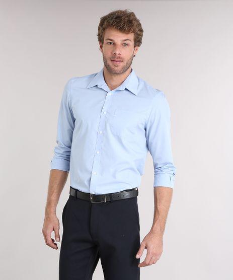 Camisa-Masculina-Comfort-Manga-Longa-com-Bolso-Azul-Claro-7591834-Azul_Claro_1