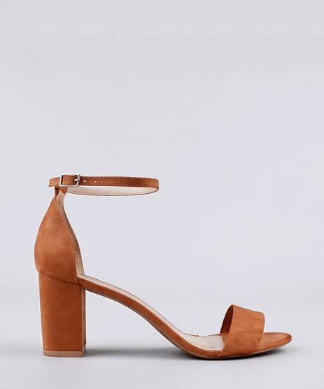 Sandalia-Feminina-Salto-Grosso-em-Suede-Caramelo-9155052-Caramelo_1