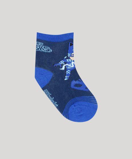 Meia-Infantil-PJ-Masks-Cano-Medio-Azul-Escura-9196243-Azul_Escura_1