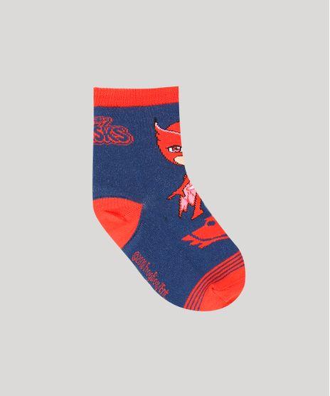 Meia-Infantil-PJ-Masks-Cano-Medio-Azul-Escura-9196237-Azul_Escura_1