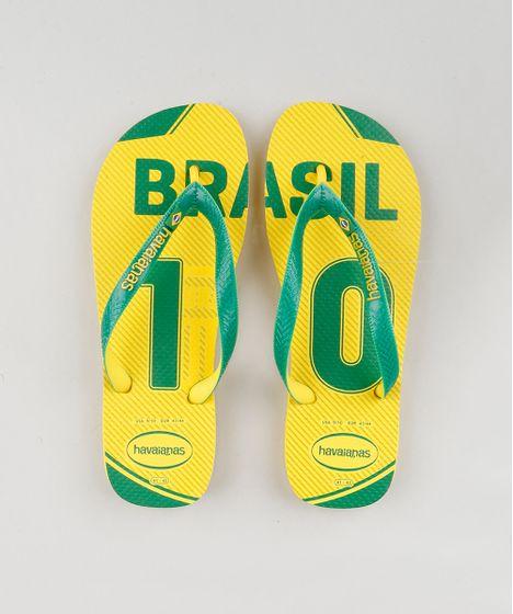 a86ecf8ac5e Chinelo-Masculino-Havaianas--Brasil-10--Amarelo-9145004- ...