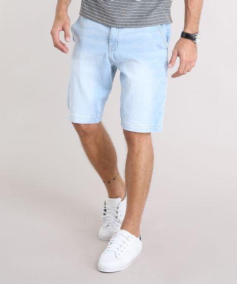 Bermuda-Jeans-Masculina-Reta-com-Cordao-e-Bolsos-Azul-Claro-9130932-Azul_Claro_1