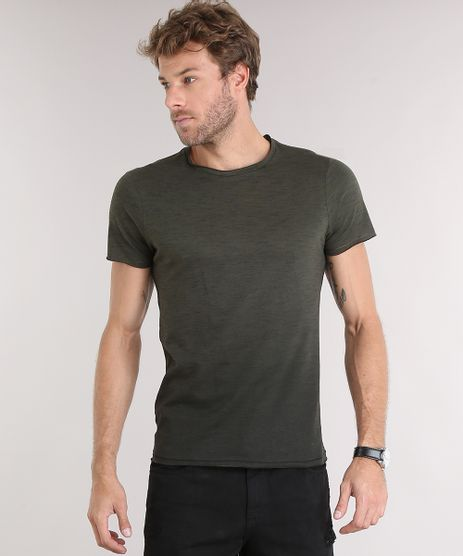 Camiseta-Masculina-Slim-Fit-Degrade-Manga-Curta-Gola-Redonda-Verde-Escuro-9114977-Verde_Escuro_1