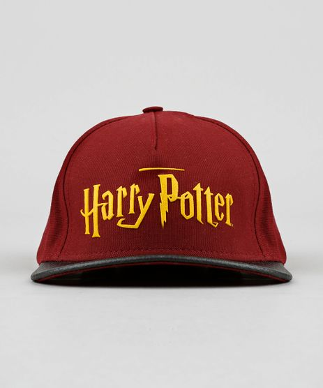 Bone-Infantil-Harry-Potter-Aba-Reta-Vinho-9130468-Vinho_1