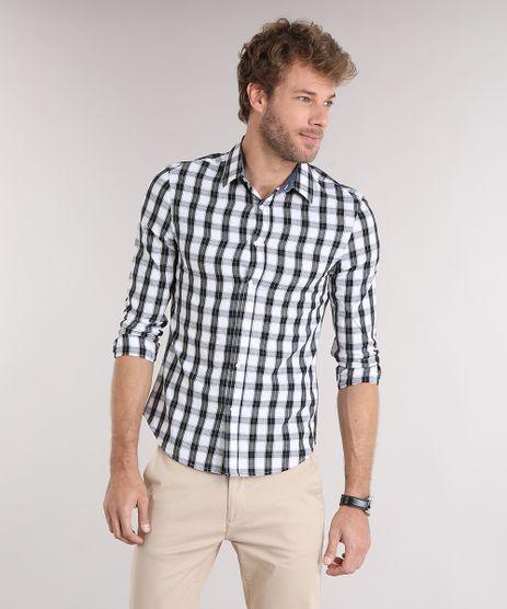 Camisa-Masculina-Slim-Xadrez-Manga-Longa-Off-White-8897727-Off_White_1