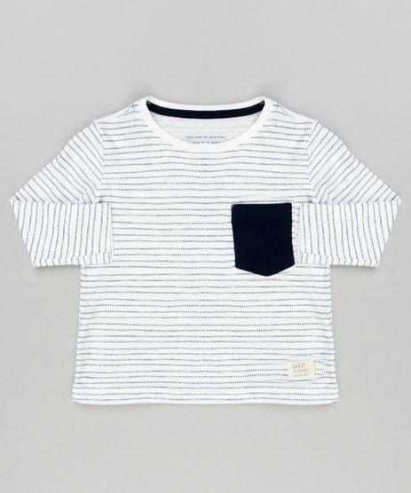 Camiseta-Infantil-Estampada-com-Bolso-Gola-Careca-Manga-Longa-em-Algodao---Sustentavel-Off-White-9130850-Off_White_1