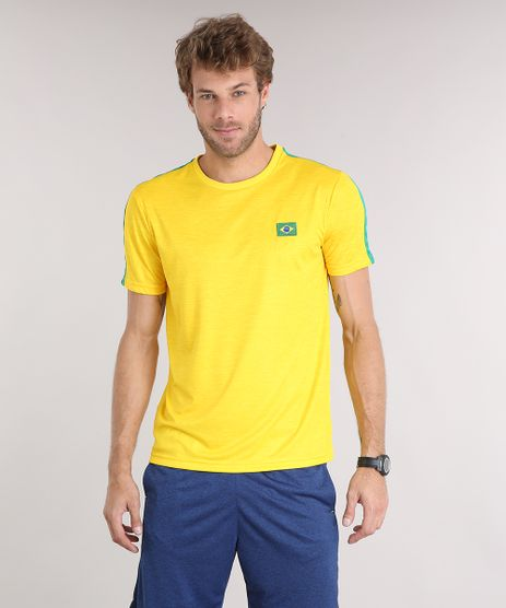 Camiseta-Masculina-Esportiva-Ace-Brasil-Manga-Curta-Gola-Careca-Amarela-9172628-Amarelo_1