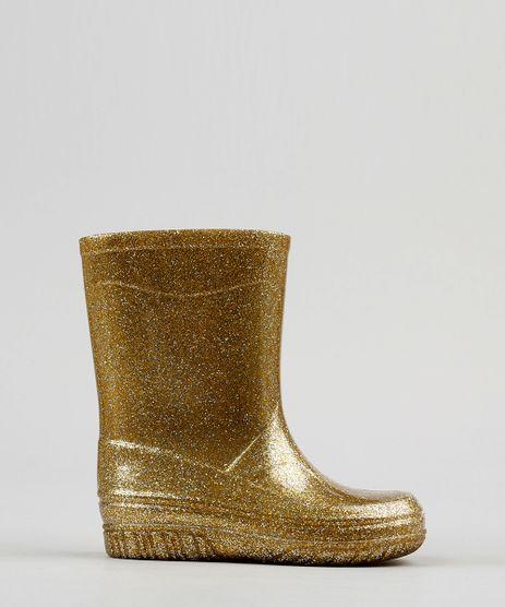 Bota-Galocha-Infantil-com-Glitter-Dourado-9196171-Dourado_1