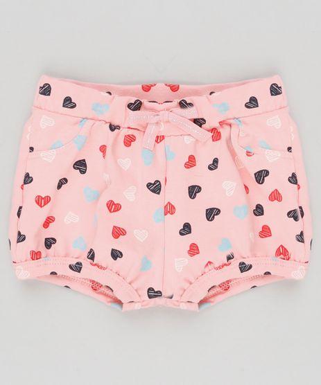 Short-Infantil-Balone-Estampado-de-Coracoes-em-Algodao---Sustentavel-Rosa-9148741-Rosa_1