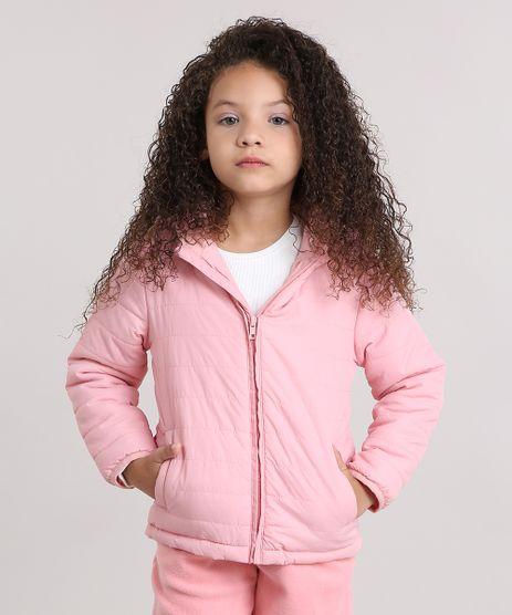 Jaqueta-Infantil-Puffer-com-Capuz-e-Forro-em-Fleece-Rosa-8906107-Rosa_1