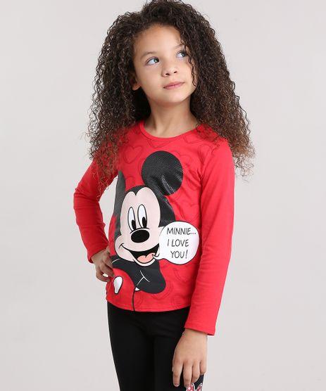 Blusa-Infantil-Mickey-com-Estampa-Diferenciada-Manga-Longa-Decote-Redondo-em-Algodao---Sustentavel-Vermelha-9141531-Vermelho_1