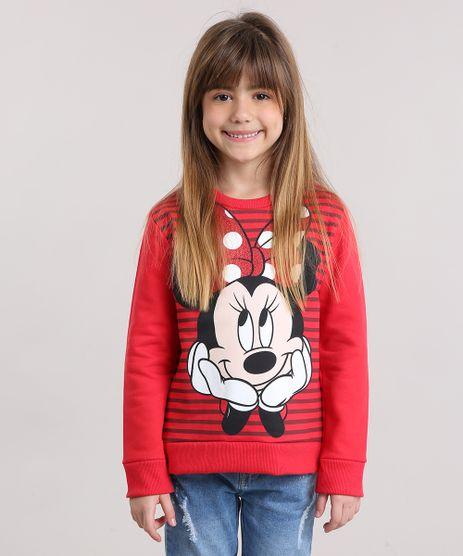 Blusao-Infantil-Minnie-com-Listras-e-Glitter-em-Moletom-Manga-Longa-Decote-Redondo-Vermelho-9156741-Vermelho_1