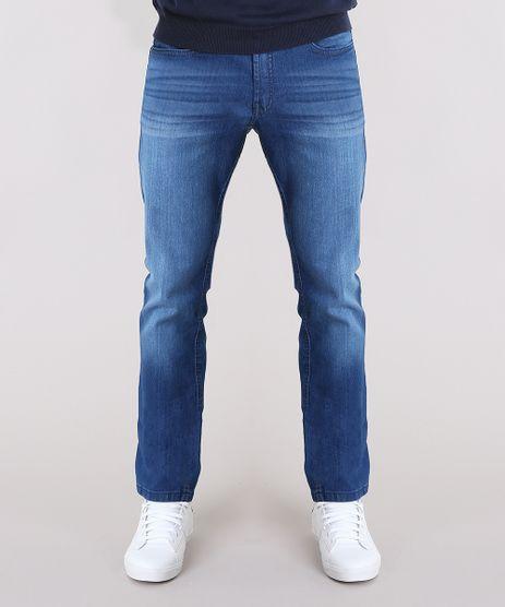 Calca-Jeans-Masculina-Reta-Azul-Medio-9134511-Azul_Medio_1