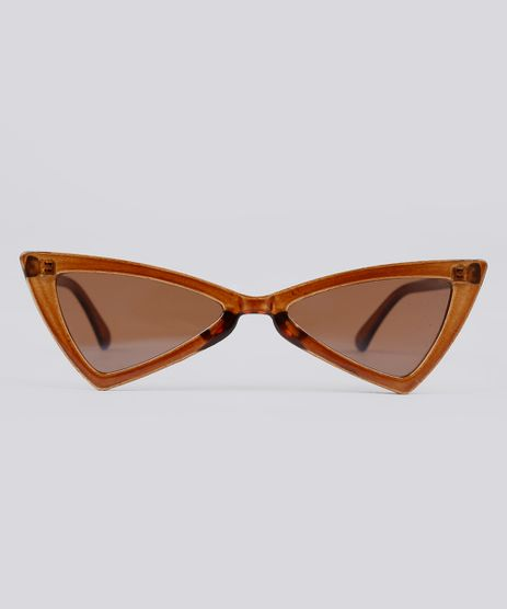 Oculos-de-Sol-Gatinho-Cool-Future-Feminino-Oneself-Marrom-9207905-Marrom_1