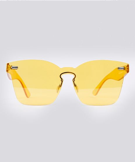 Oculos-de-Sol-Quadrado-Feminino-Oneself-Amarelo-9189384-Amarelo_1