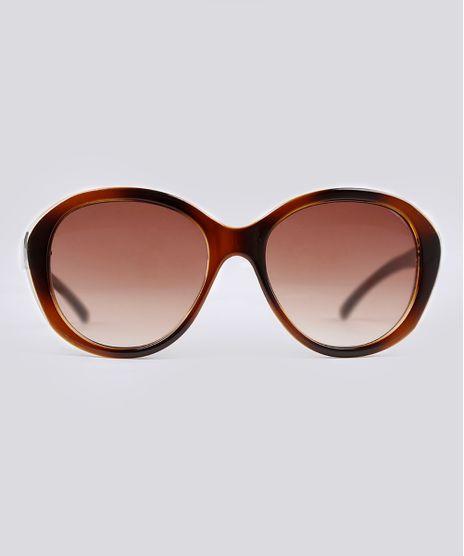 Oculos-de-Sol-Redondo-Feminino-Oneself-Tartaruga-9102651-Tartaruga_1