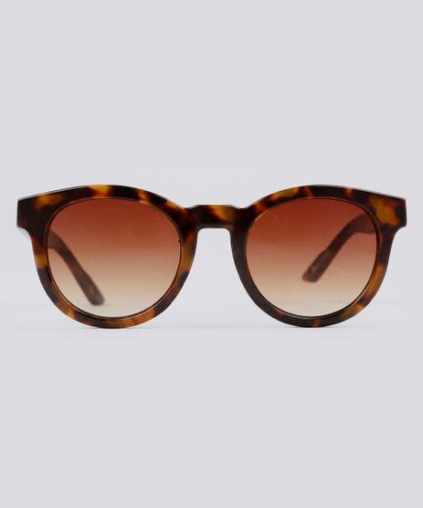 Oculos-de-Sol-Redondo-Feminino-Oneself-Tartaruga-9189305- f4f9b29d67
