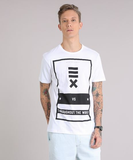 Camiseta-Masculina--Throughout-The-World--Manga-Curta-Gola-Careca-Branca-9149164-Branco_1