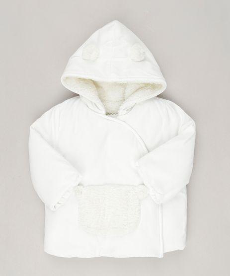 Casaco-Infantil-Unissex-com-Capuz-de-Orelhinhas-Forrado-de-Pelo-Off-White-8866113-Off_White_1