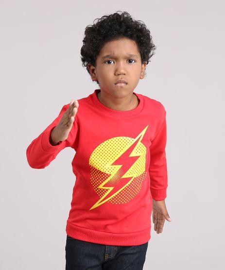 Blusao-Infantil-The-Flash-em-Moletom-Vermelho-9152136-Vermelho_1