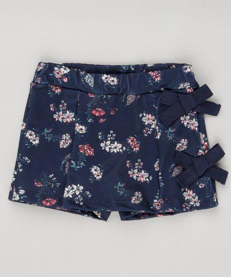 Short-Saia-Infantil-Estampado-Floral-com-Lacos-Azul-Marinho-9188866-Azul_Marinho_1