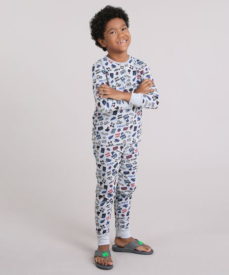 Pijama-Infantil-Estampado-Video-Game-em-Moletom-Cinza-Mescla-9133501-Cinza_Mescla_1