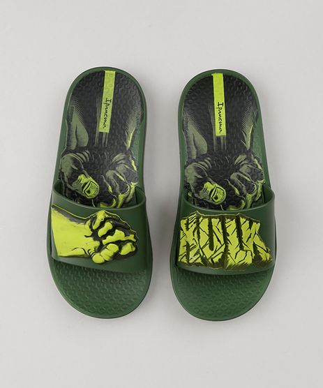 Chinelo-Slide-Infantil-Ipanema-Hulk-Verde-Escuro-9203395-Verde_Escuro_1