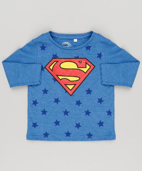 Camiseta-Infantil-Super-Homem-Manga-Longa-Decote-Careca-Azul-9139680-Azul_1