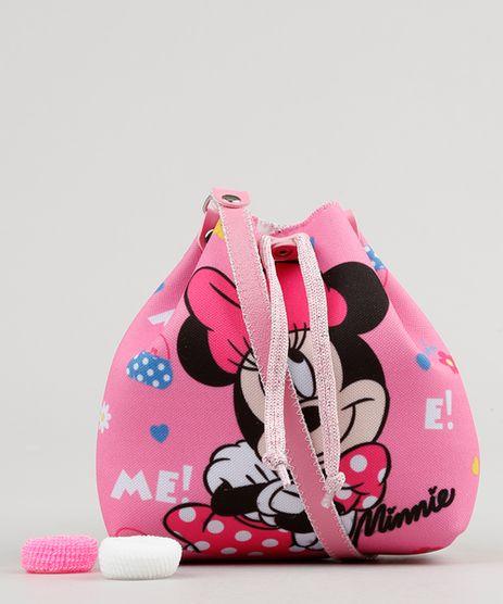 Bolsa-Infantil-Estampada-Minnie---Elasticos-de-Cabelo-Rosa-9126662-Rosa_1