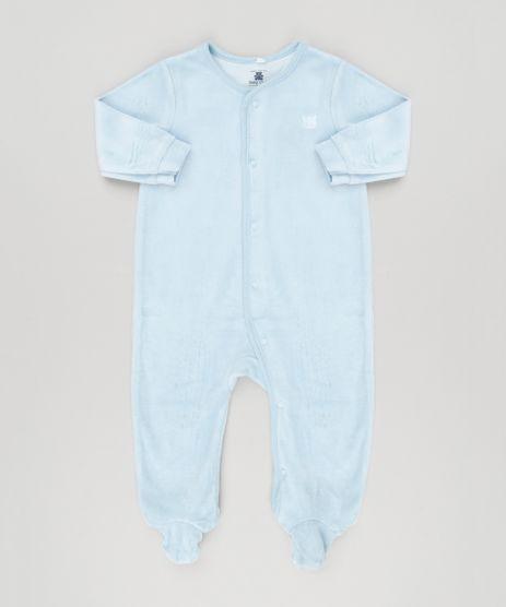 Macacao-Infantil-em-Plush-de-Algodao---Sustentavel-Azul-Claro-8940842-Azul_Claro_1