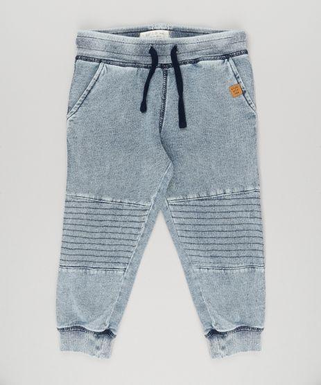 Calca-Jeans-Infantil-em-Moletom-Azul-Claro-8856360-Azul_Claro_1