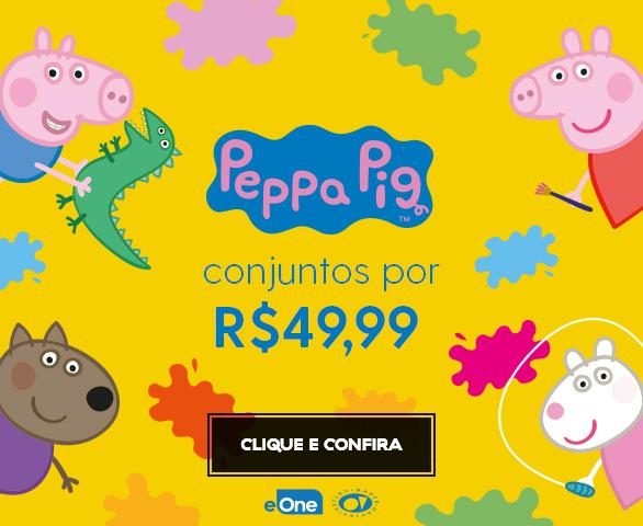 Banner Carrossel - Peppa Pig