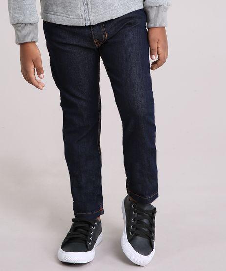 Calca-Jeans-Slim-em-Algodao---Sustentavel-Azul-Escuro-8702093-Azul_Escuro_1
