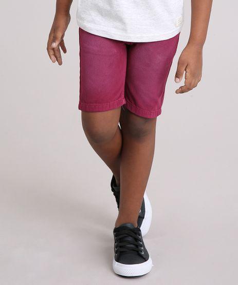 Bermuda-Infantil-Vinho-9146330-Vinho_1