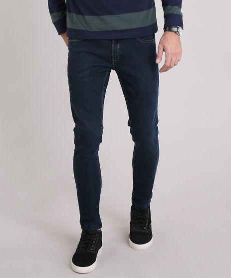 Calca-Jeans-Masculina-Skinny-com-Algodao---Sustentavel-Azul-Escuro-9120246-Azul_Escuro_1