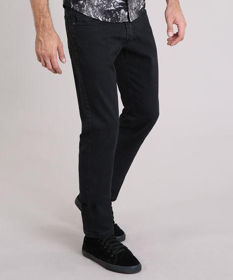 Calca-Jeans-Masculina-Reta-Preta-8359539-Preto_1