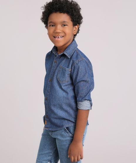 Camisa-Infantil-Jeans-com-Bolso-Gola-Esporte-Manga-Longa-Azul-Medio-9178523-Azul_Medio_1