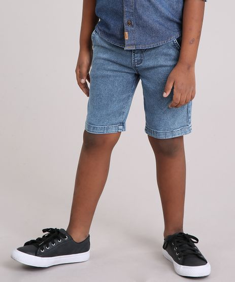 Bermuda-Infantil-Jeans-em-Algodao---Sustentavel-Azul-Medio-9148459-Azul_Medio_1